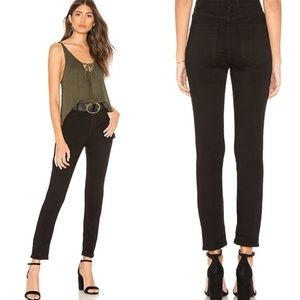 Free People Long And Lean Jean. Black 31S#010